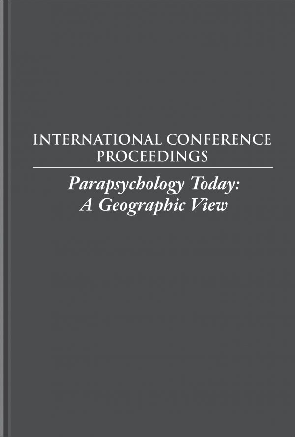 Parapsychology Today: A Georgraphic View