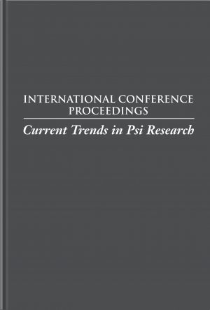 Current Trends in Psi Research