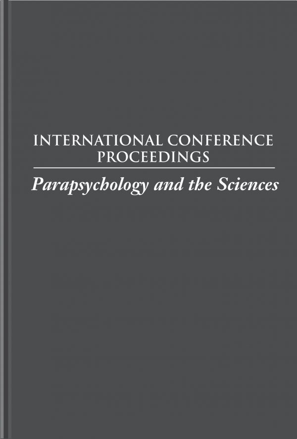 Parapsychology and the Sciences